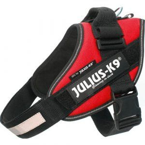 Julius K9 IDC Hundesele - Rød - Flere Størrelser