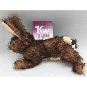 Kw Fun Hundelegetøjs Kanin - 30cm - Med Pivelyd
