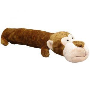 Kw Hundelegetøjs Plys Abe Bamse med Piv - 45cm