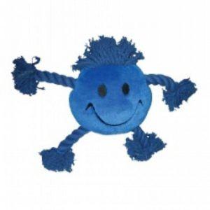 Kw Hundelegetøjs Smiley Reb - 21x30x8cm - Blå