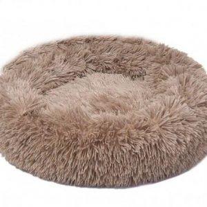 Lounge Scanidinavia Donut Hundeseng - Large - Ø80x11cm - Beige