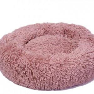 Lounge Scanidinavia Donut Hundeseng - Large - Ø80x11cm - Pink