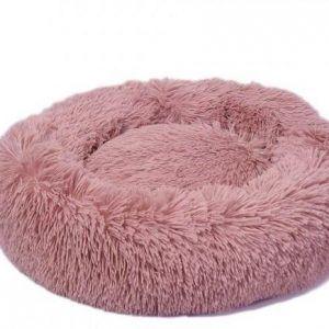 Lounge Scanidinavia Donut Hundeseng - Small - Ø50x9cm - Pink