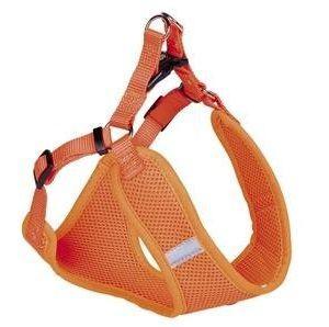 Nobby Hundesele Mesh Orange - Flere Størrelser