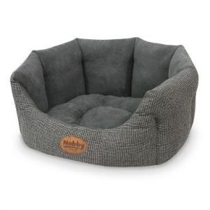 Nobby Josi Oval Hundeseng - Flere Størrelser - Grå