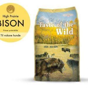 Taste Of The Wild High Prairie Hundefoder - Med Bison - 2kg - Kornfrit