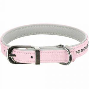 Trixie Active Comfort Hundehalsbånd - Med Rhinsten - Pink
