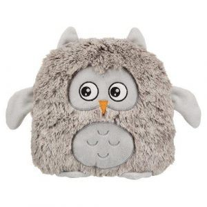 Trixie Hundelegetøjs Ugle Bamse - 26cm - Med Knitre