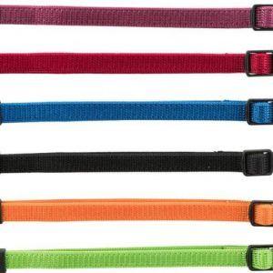 Trixie Hvalpehalsbånd - 22 - 35 cm/10 mm - 6stk - Forskellige Farver