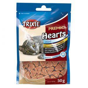 Trixie Premio Katte Snack Godbidder - Med Hjerte, Andebryst og Sejfisk - 50g - Sukkerfrie