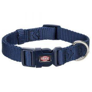 Trixie Premium Hundehalsbånd i Nylon - Indigo Blå - Flere Størrelser