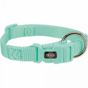 Trixie Premium Hundehalsbånd i Nylon - Mint - Flere Størrelser