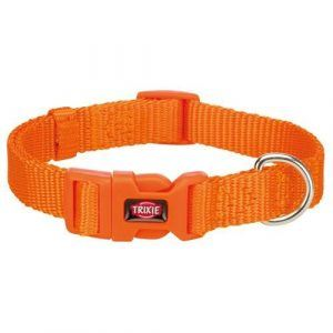 Trixie Premium Hundehalsbånd - i Nylon - Papaya Orange - Flere Størrelser