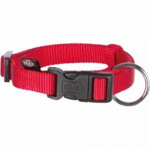 Trixie Premium Hundehalsbånd i Nylon - Rød - Flere Størrelser