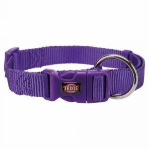 Trixie Premium Hundehalsbånd i Nylon - Violet - Flere Størrelser