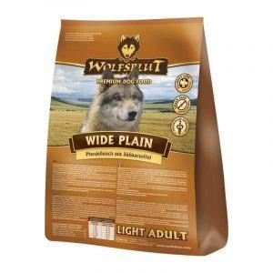 Wolfsblut Wide Plain LIGHT Adult, med hest, 2 kg
