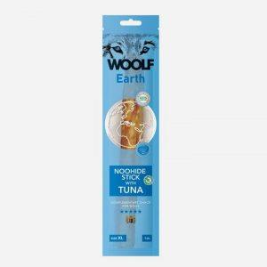 Woolf Earth NooHide Sticks - Tun - Naturlige Tyggeben - XL - 1 stk.