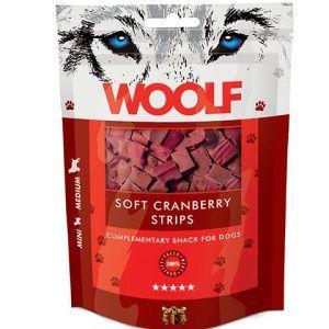 Woolf Hunde Snack Godbidder Bidder - Med Tranebær- 100g