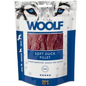 Woolf Hunde Snack Godbidder - Med Ande Fillet - 100g - 94% Kød