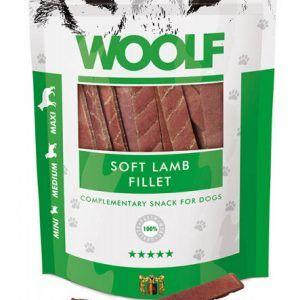 Woolf Hunde Snack Godbidder - Med Blød Lamme Filet - 100g - 90% Kød