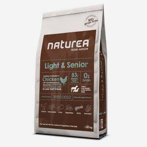 12 kg Naturea Grainfree - Light & Senior