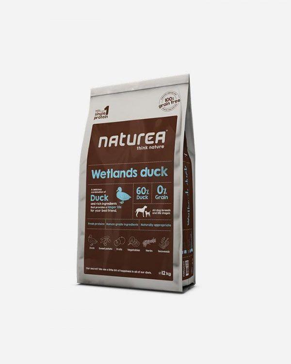 12 kg Naturea Grainfree - Wetlands Duck