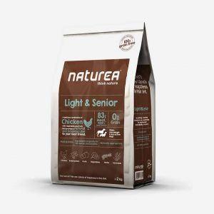 2 kg Naturea Grainfree - Light & Senior