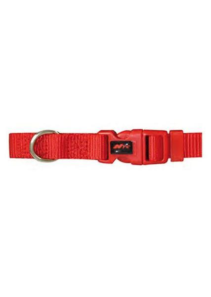 Basic Basic nylonhalsbånd, Rød