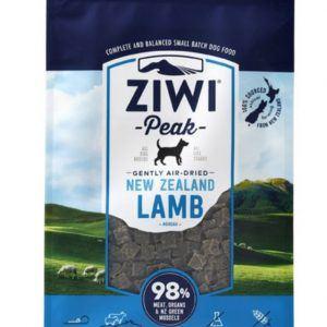 ZiwiPeak Dog - Air-dried Lamb 2,5 kg DATOVARE MHT FEBRUAR 2022