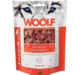 woolf Hundegodbidder fra Woolf, små laksegodbidder